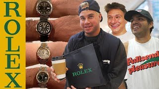 Buying all our Employees $50,000 Rolex's!