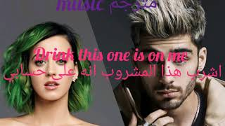 Katy perry and zayn (chained from dusk till dwon)(مترجمة للعربية)جودة عالية 1080