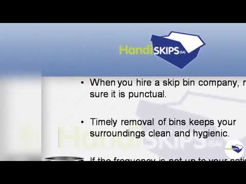 Get Waste Removal Done Most Efficiently at the Easiest Skip Bin