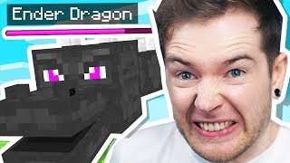 I FIGHT the ENDER DRAGON in Minecraft Hardcore!