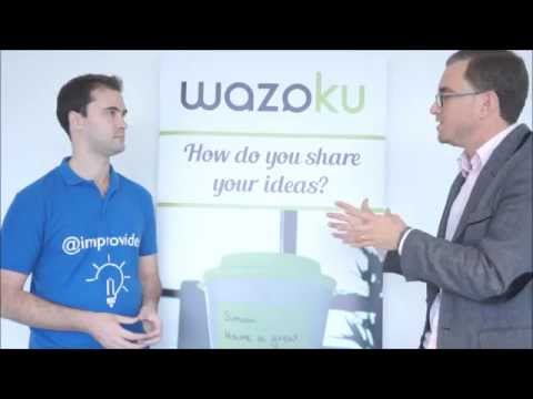 How Idea Management works: Improvides interviews Simon Hill from Wazoku