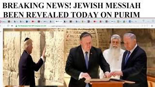 BREAKING NEWS! JEWISH MESSIAH BEEN REVEALED TODAY ON PURIM