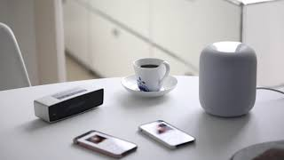 HomePod vs Soundlink Mini