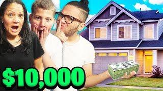 HIDDEN $10,000 TREASURE HUNT IN THE HOUSE!!! WINNER KEEPS THE MONEY - CHALLENGE!! | MindOfRez
