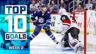 Top 10 Goals from Week 2   2019-20 NHL Season
