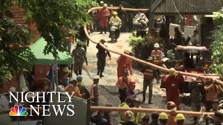Divers Work Tirelessly To Rescue Soccer Team Trapped In Thailand Cave | NBC Nightly News
