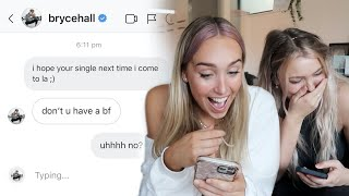i dmed all the hottest tiktok boys to see if they replied