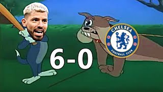 Manchester City vs Chelsea 6-0 Highlights (Cartoon Edition) 2019