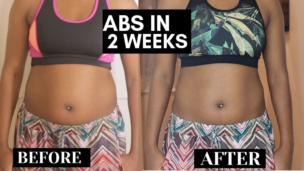 Abs in 2 weeks? Trying Chloe ting ab workout challenge ...
