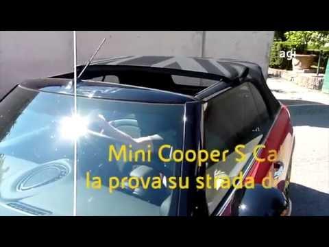 Mini Cooper S Cabrio, prova su strada con il vento tra i capelli