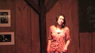 Mia Pitroff in der Kneipenbühne Oberweiling