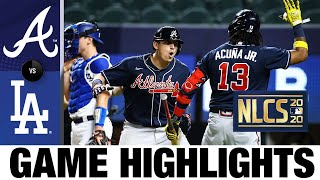 4-run 9th propels Braves to Game 1 win over Dodgers | Braves-Dodgers NLCS Game 1 Highlights