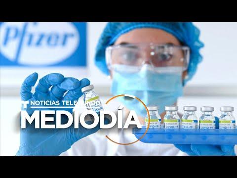 Reino Unido aprueba la vacuna contra COVID-19 de Pfizer | Noticias Telemundo