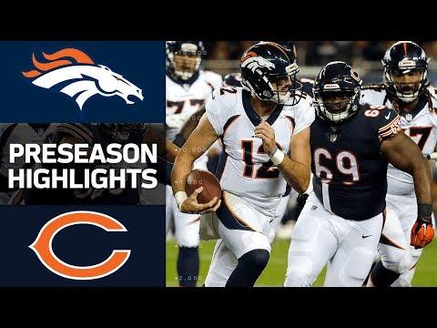 Denver Broncos vs Chicago Bears