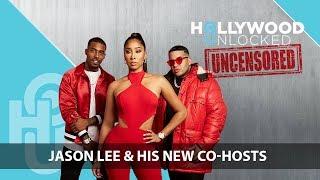 Jason Lee Welcomes DJ Damage & Apryl Jones as New Co-Hosts on Hollywood Unlocked [UNCENSORED]