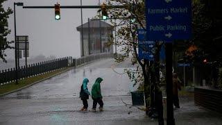 L'ouragan Florence a touché terre en Caroline du Nord