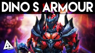 Monster Hunter X Dinovaldo S Blademaster Armor Set
