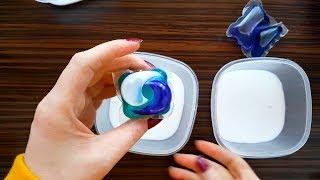 Se va face Slime? - Incerc diferite Tipuri de Detergenti Lichizi si Pernute