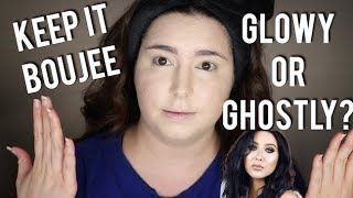 I TRIED FOLLOWING JACLYN HILLS RADIANT GLOW FOUNDATION ROUTINE