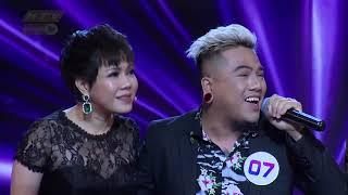Việt Hương ôm em trai thân thiết Mr Tô, đạo diễn triệu view   CA SĨ BÍ ẨN CSBA #4 MÙA 3