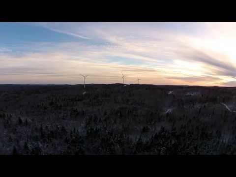 SWFI Turbines Spinning in Martock Ridge.
