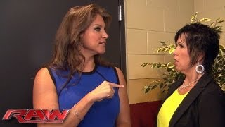 Stephanie McMahon announces Vickie Guerrero will receive a job evaluation next week on Raw: Raw, Jul