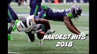 NFL Hardest Hits of the 2018 Season
