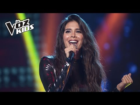 Greeicy Rendón cantó Más Fuerte | La Voz Kids Colombia 2018