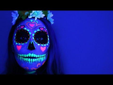 Baixar Black Light Sugar Skull ♥ Tutorial