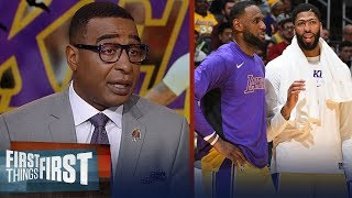 Cris Carter thinks Anthony Davis is the perfect fit for LeBron, Lakers   NBA   FIRST THINGS FIRST