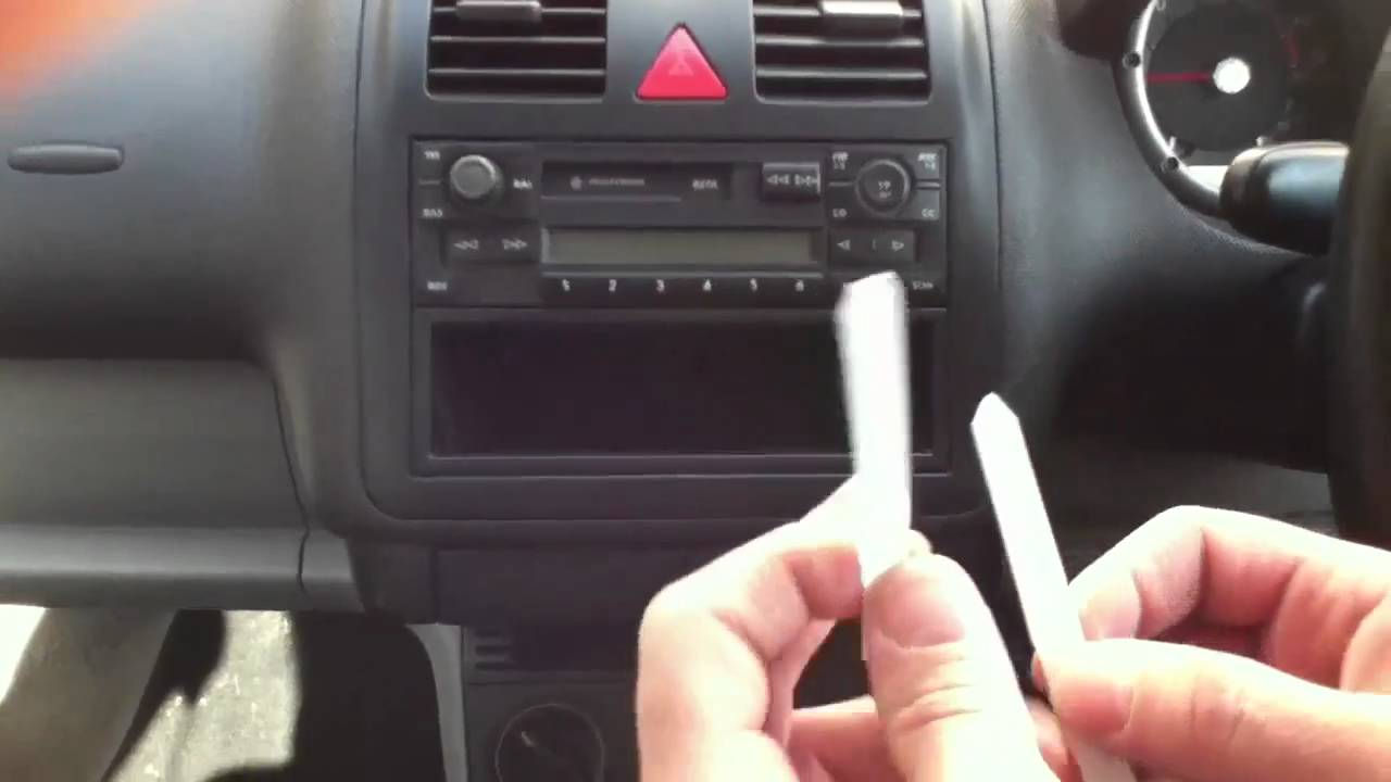 wiring diagram for volkswagen golf how to take the stereo out of a volkswagen lupo youtube