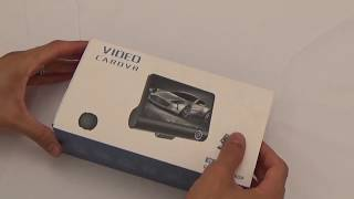 """4"""" Dashcam 3 Lens camera  Unboxing and Testing Day/Night Videos samples"""