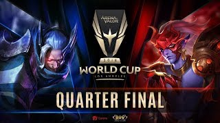 RoV : World Cup 2018 Day 4 - Quarter Finals