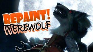 Repaint! Werewolf Halloween 2020 Custom Art Doll