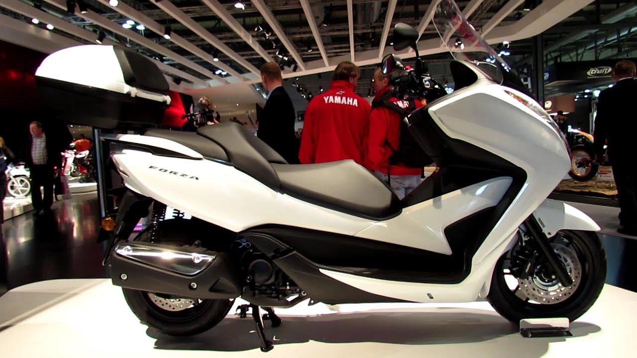 2014 Honda Forza 300 Scooter Walkaround