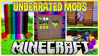My Favourite Underrated Minecraft Building Mods!
