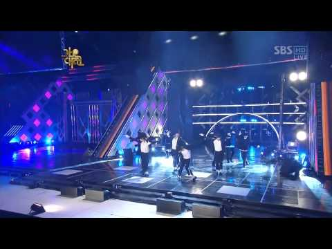 Super Junior - Billie Jean MJ Tribute Gayo Daejun 2009 HD