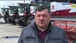 Александр Бурков с рабочей поездкой побывал в Одесском районе