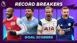 Every Premier League club's RECORD BREAKING goal scorer! Featuring Henry, Agüero, Kane and Vardy