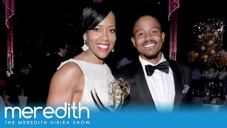 Regina King's Emotional Emmy Moment With Her Son | The Meredith Vieira Show