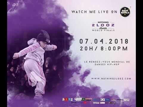Nothing2looz 2018 - Kids Cypher Battle Qualifier - Bgirl Terra vs Malik vs Grom vs Lorenzo