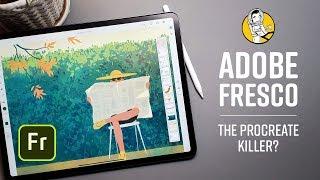 Fresco: Adobe's Procreate Killer?