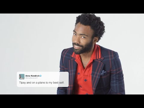 The Funniest Tweets Read by Donald Glover and the Year's Best Actors | GQ