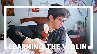 I tried to learn the violin in 24 hours...