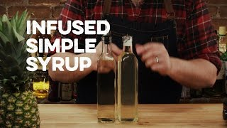 How to Drink: Infused Simple Syrup