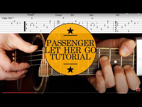 Baixar Guitar Lesson & TAB: Let Her Go by Passenger p1:How to play Intro (Acoustic Guitar Tutorial)