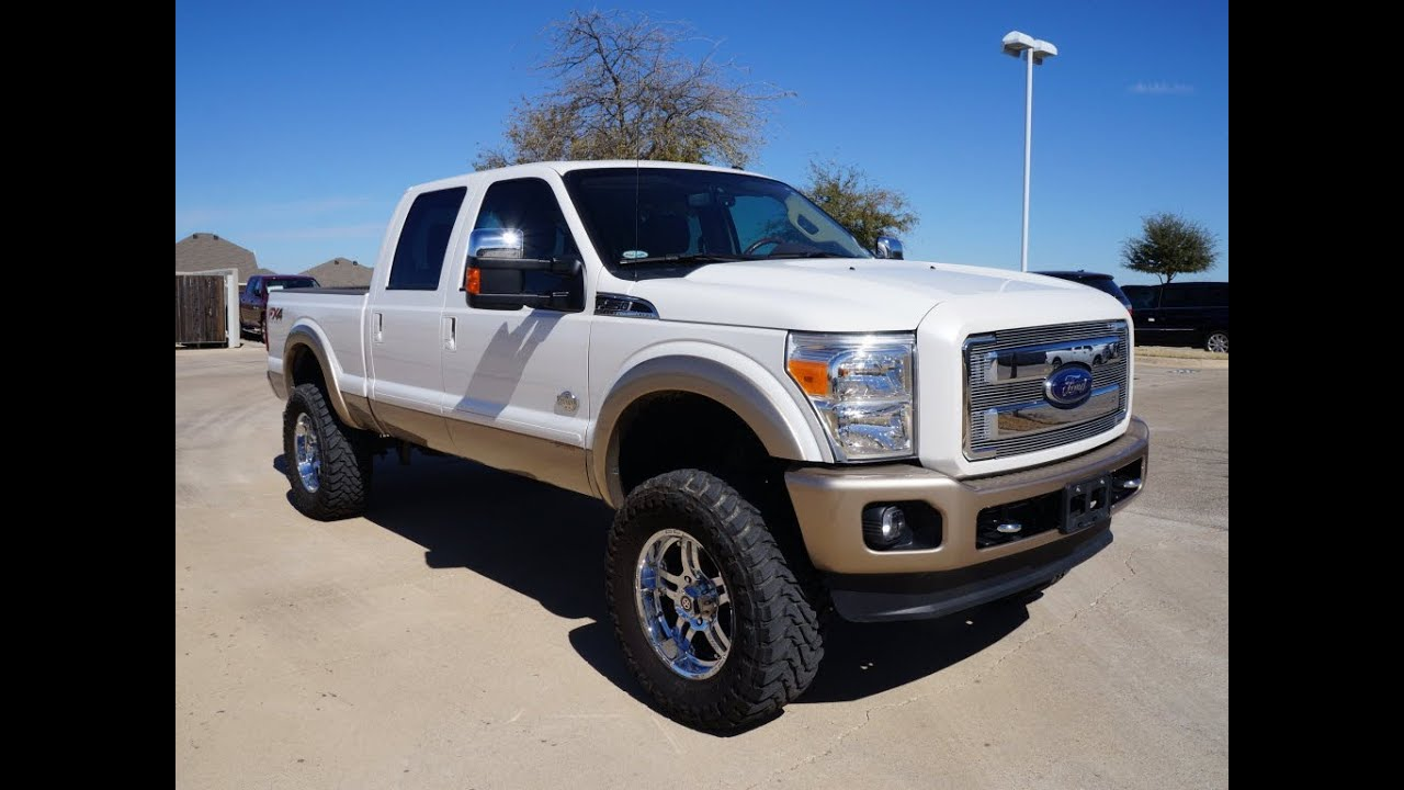 F250 King Ranch >> Tricked Out trucks New and Used 4x4 Lifted Ford Ram TDY ...