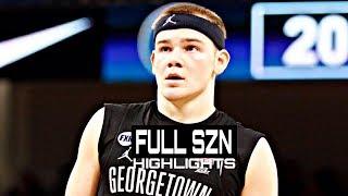 Mac McClung Georgetown Freshmen Season Highlights Montage 2018-19 - White Iverson!