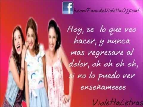 Letra Junto A Ti: Violetta,Francesca y Camila (Martina,Lodovica y Candelaria) HD
