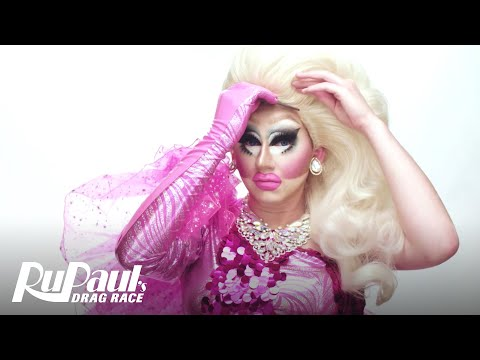 Drag Makeup Tutorial: Trixie Mattel's Bubble Gum Fantasy | RuPaul's Drag Race | Logo